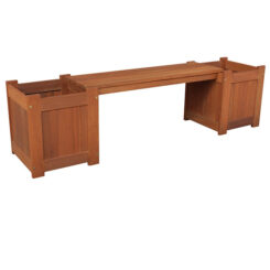 botany planter box bench