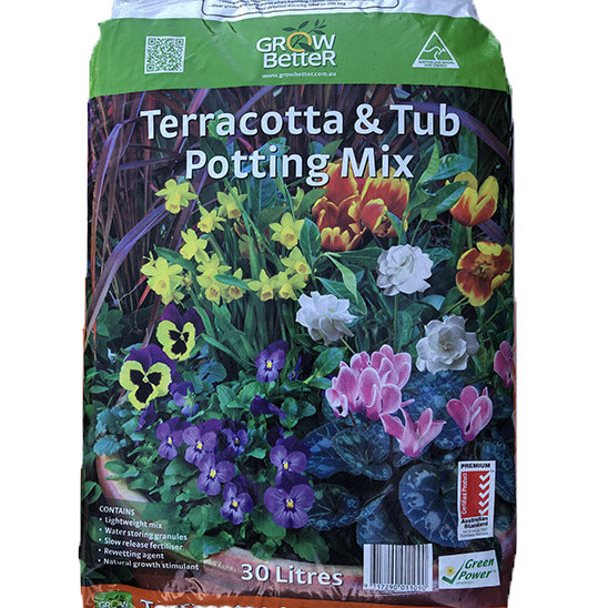 Grow Better Terracotta and Tub potting mix