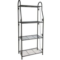 plant stand 4 tier metal