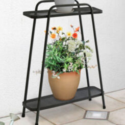 modern 2 tier plant stand