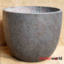 Charlotte-Egg-Dark-Grey planter