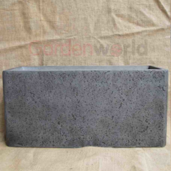 Charlotte Trough Dark Grey