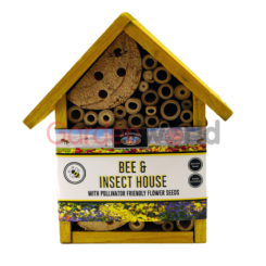 Bee Insect Hotel Yellow