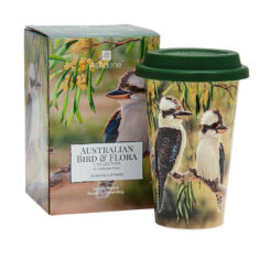 ashdene-australian-bird-flora-kookaburra-wattle-travel-mug-boxed