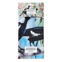 ashdene-australian-bird-flora-magpie-gum-kitchen-towel-folded