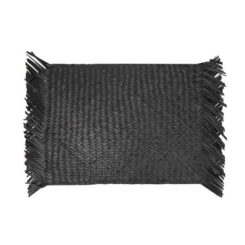 cci-zola-seagrass-fringe-placemat-black
