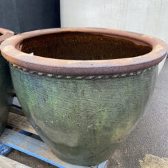 Pie Crust Planter Pot