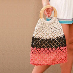 icwhl0443-tri-colour-pink-black-nat-macrame-bag-HL0443