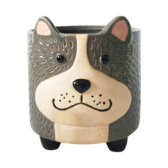 uprug139418-dog-planter-grey-sand-12cm