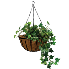 Cathedral Hanging Basket Black