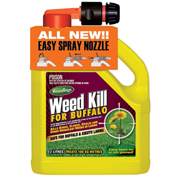 Brunnings Weed Kill for Buffalo