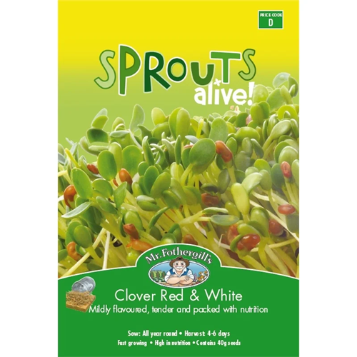 Mr Fothergill's Sprouts Alive