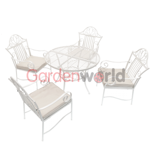 Lotus Table Setting - With 4 Chairs